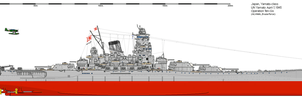 BB IJN Yamato April 1945 Ten Go by Erusia-Force