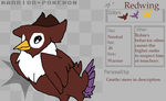 Pokemon Warriors: Redwing by SasorisPuppy