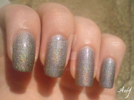 Holographic Nail Polish by AnyRainbow