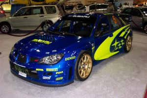 Subaru Rally car by Stroomlijn-Design