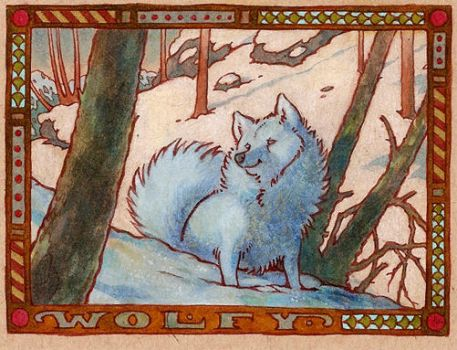 badge - wolfy by luve