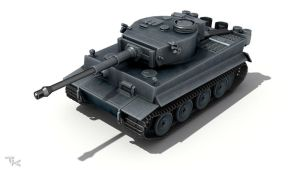 Tiger H by tk3d