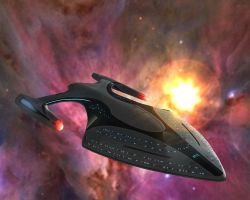 USS Proteus Beauty Shot by trekmodeler