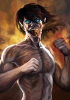 EREN TITAN by chanlien