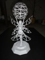 Godess Statue Wireframe by Luyomi333