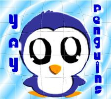 POSTER 1. penguin.. by ice-lily