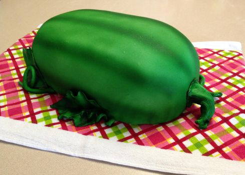 Watermelon Cake by MandysCakesNCandies