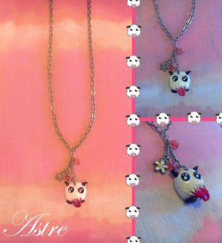Poro League Of Legends necklace by astre90