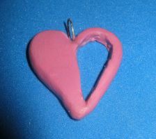 Homestuck Heart Charm by LeafyWildFlower