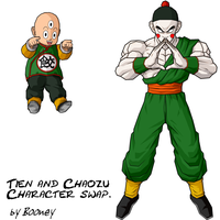 Tenzu and Chaoshinhan by SuperBooney