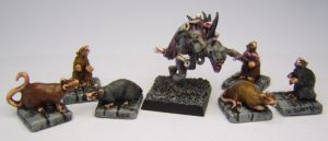 MORDHEIM Ghoul and Giant Rats by FraterSINISTER