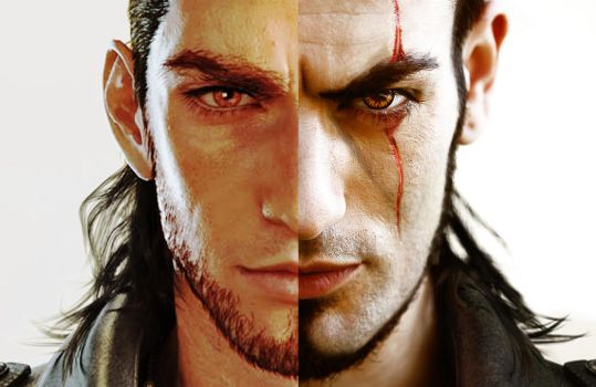 Cosplay vs Character - Leon Chiro as GLADIOLUS by LeonChiroCosplayArt