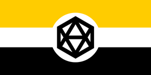 Flag of the Consortium of Sovereign Systems by RvBOMally