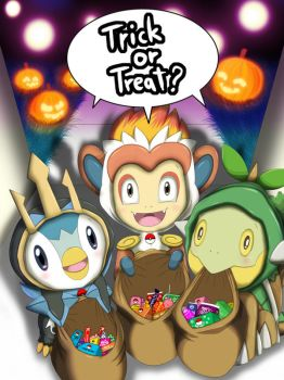 Trick Or Treat? ( Sinnoh ) by Winick-Lim