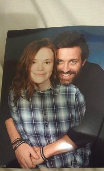 Meeting Rob Benedict at Burcon2016 by Mickxbeth2012