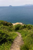 Old stairs in Yehliu park leading to the coast 2 by AneiKhaar