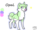 Opal Refrence by Fantasaurus