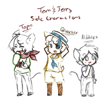 Tom and Jerry Side Characters Set 1 by GeekyKitten64