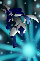Gift: Shining Light by SilverLucario12