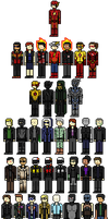 The Flash - Heroes and Villains by Shadows-Twilight