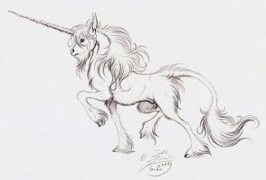 M50MCC 7: Unicorn by Paperiapina