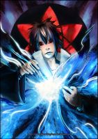 Japan Expo Poster - Sasuke by SketchingDays