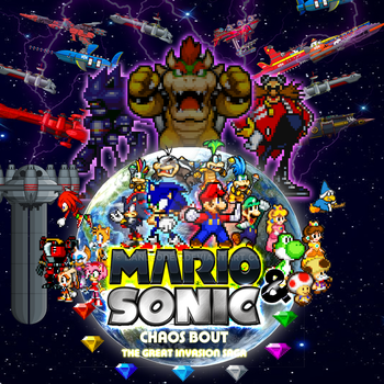 Mario and Sonic Chaos Bout, chapter 1 by Danleoden