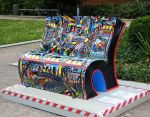 Park bench 1 - London 2014 by wildplaces
