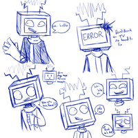 Wire Sketches by CrypticConversation
