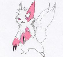Zangoose Colored by Chardarble