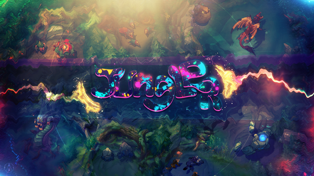 Wallpaper Jungler - League of Legends by Aynoe