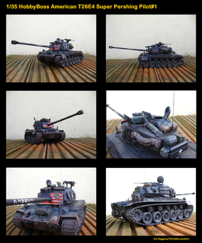 1/35 T26E4 Super Pershing Updated by Tank-Dragon2014