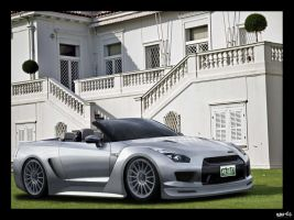 Nissan GT-R Carbriolet by chopperkid44