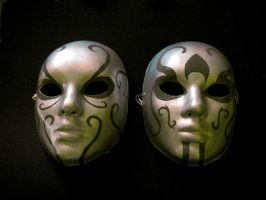 Death Eater Masks by bagasuit091