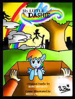 My Little Dashie COVER PAGE by NeonCabaret