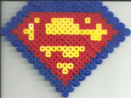 Superman by Ravenfox-Beadsprites