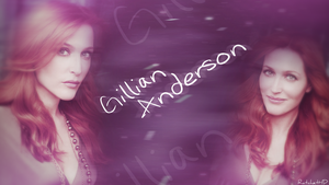 Gillian Anderson by RatchetHD