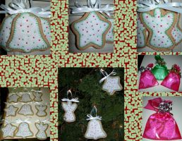 Cookie Ornaments by UrsulaPatch