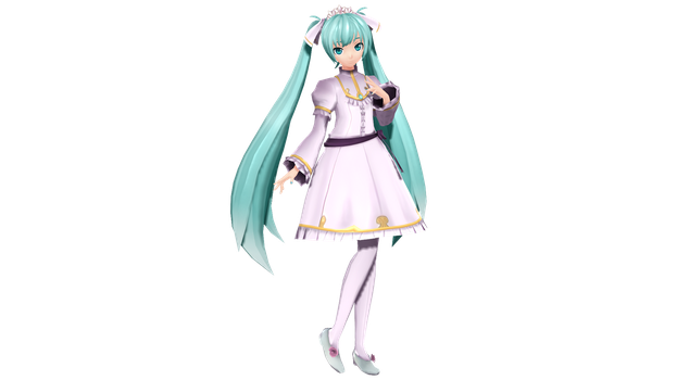 MMD - PDX Cendrillon Miku +DL by luiz7429