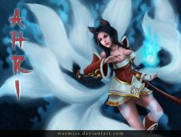 Ahri by Warmics