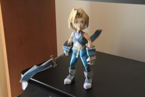 Final Fantasy IX - Zidane papercraft by Mee-Lin