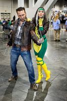 Rogue And Wolverine by OnlyintheDark