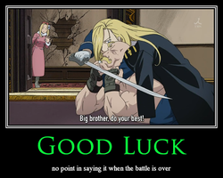 Motivational FMA 16 by xxRedDragoonxx