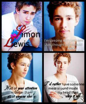 TMI official casting: Simon Lewis by Anichu90v2