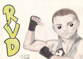 Rob Van Dam by CelticFire7