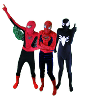 3 Spider-Men by SaiTurtlesninjaNX