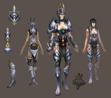 Armor Female by ilison