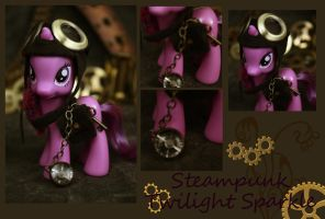 Twilight Sparkle Steampunk Figure by bluepaws21