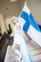APH:Finland-Another side [Fanart Female ver] by Hikari-OvO
