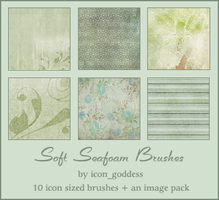soft seafoam brushes by vblackangelv